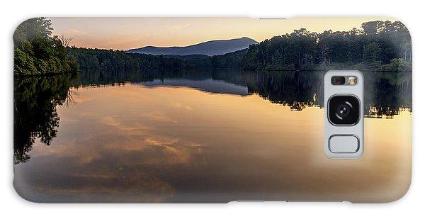 Price Lake Sunset - Blue Ridge Parkway Galaxy Case