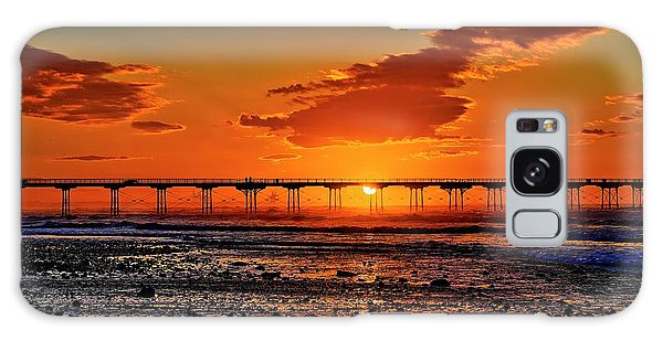 Summer Solstice Sunset Galaxy Case
