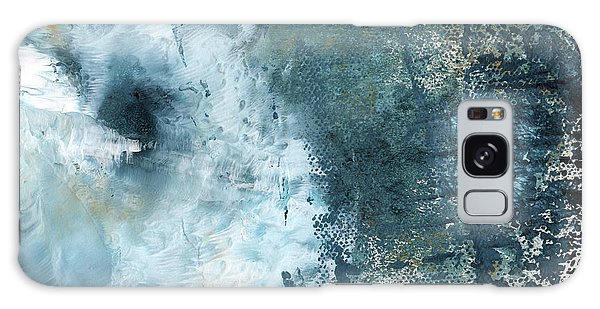 Interior Galaxy Case - Summer Storm- Abstract Art By Linda Woods by Linda Woods