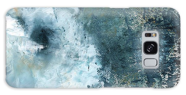 Woods Galaxy Case - Summer Storm- Abstract Art By Linda Woods by Linda Woods