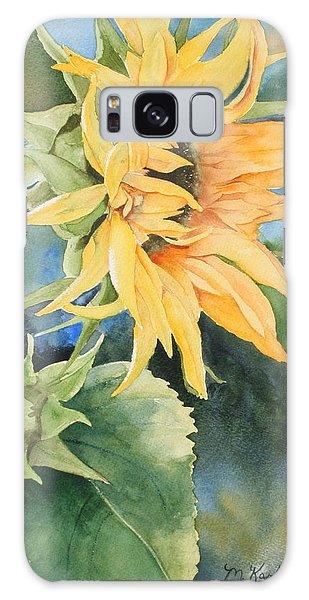 Summer Sunflower Galaxy Case