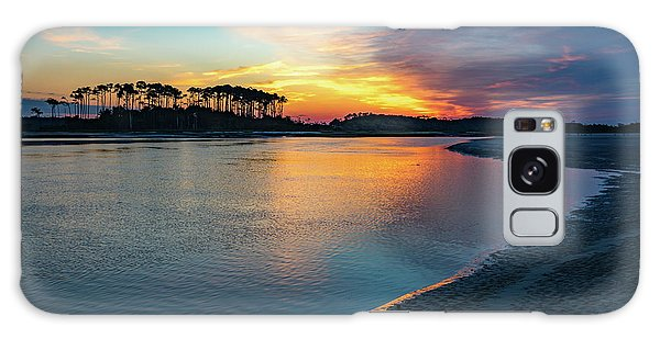 Summer Sunrise At The Inlet Galaxy Case