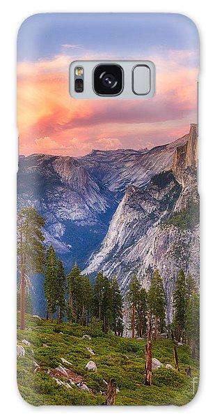 Summer Sunset Galaxy Case