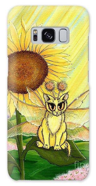 Summer Sunshine Fairy Cat Galaxy Case