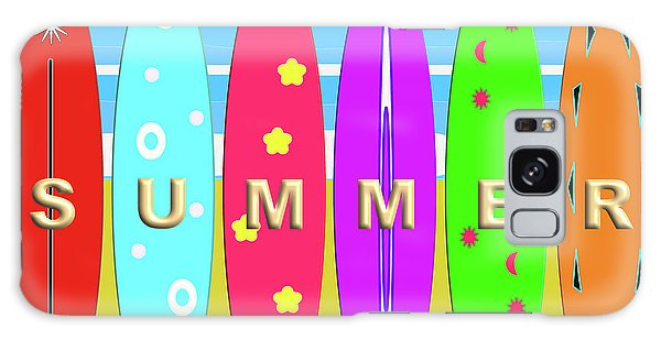Summer Surf Galaxy Case
