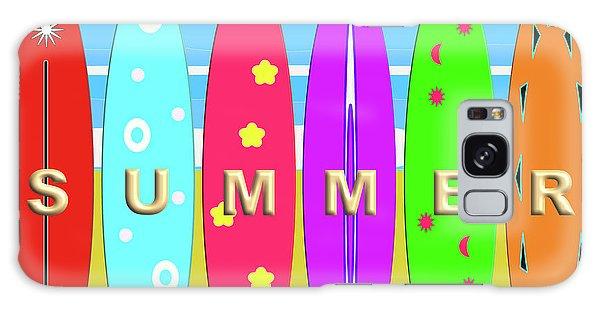 Summer Surf Galaxy Case