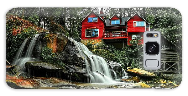 Summer Time At Living Waters Ministry And Shoals Creek Falls Galaxy Case