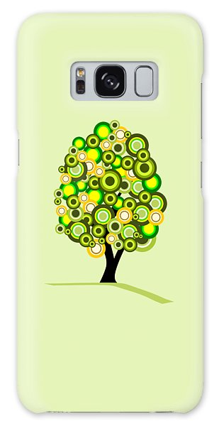 Summer Tree Galaxy Case