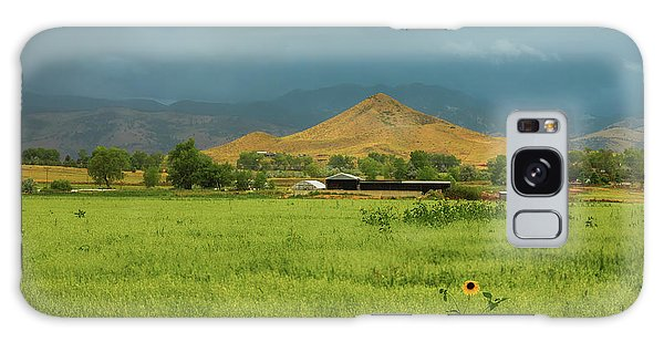 Galaxy Case featuring the photograph Summer View Of  Hay Stack Mountain by James BO Insogna