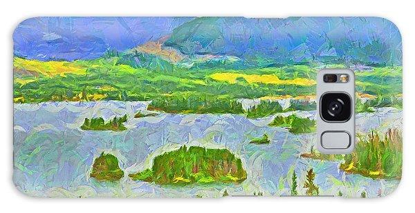 Summer View Of Lake Dillon In The Colorado Rocky Mountains Galaxy Case