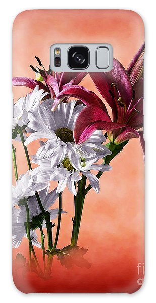 Summer Wild Flowers  Galaxy Case