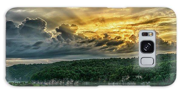 Summersville Lake Sunrise Galaxy Case