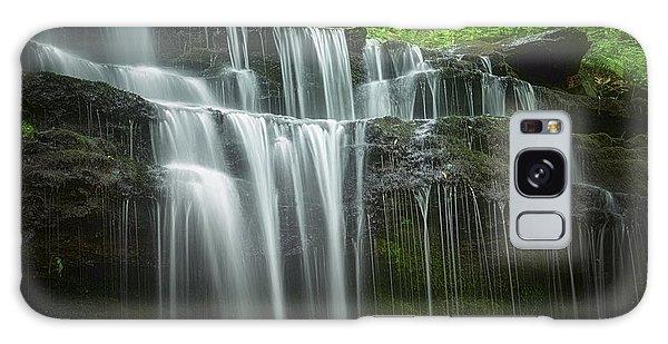 Summertime At Gunn Brook Falls Galaxy Case by Mary Lou Chmura