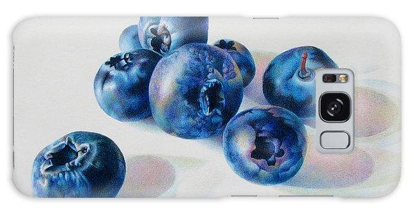 Summertime Blues Galaxy Case by Pamela Clements