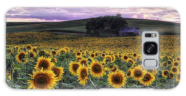 Summertime Sunflowers Galaxy Case