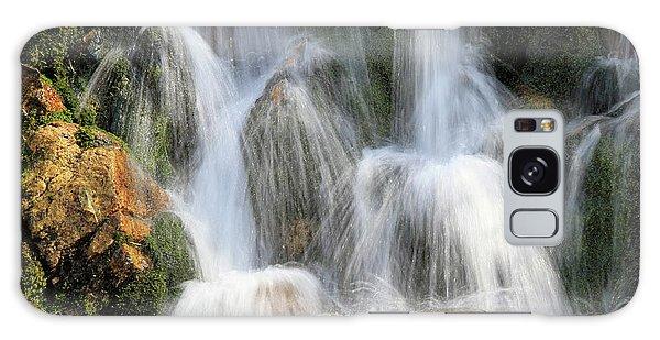 Summit Creek Waterfalls Galaxy Case