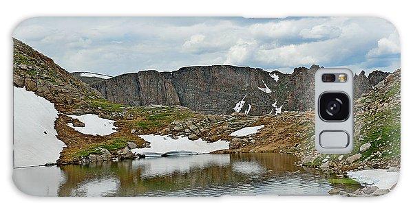 Summit Lake In Summer Galaxy Case