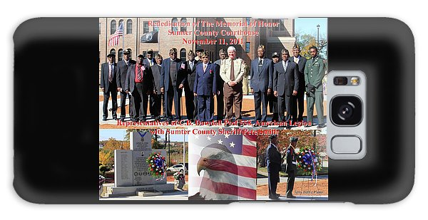 Sumter County Memorial Of Honor Galaxy Case