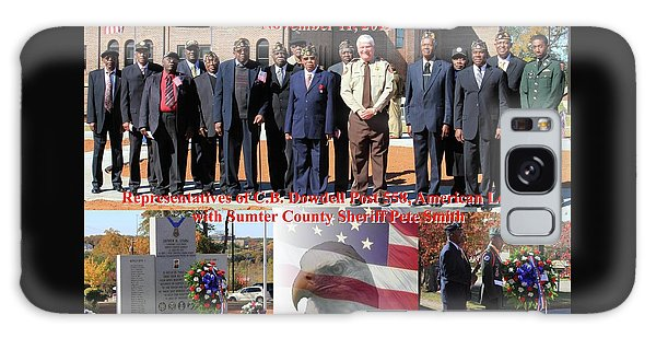 Sumter County Memorial Of Honor Galaxy Case by Jerry Battle