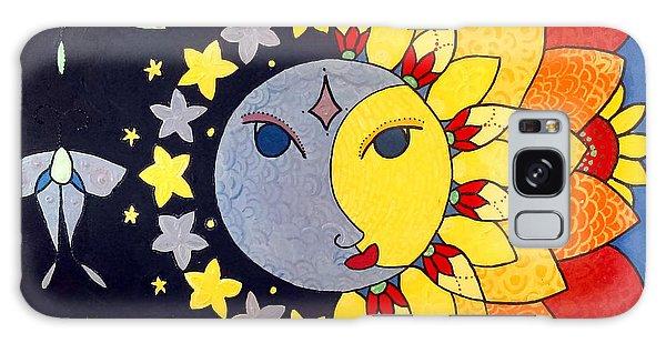 Sun And Moon Galaxy Case
