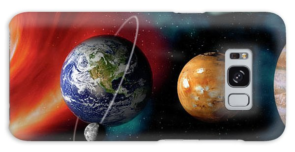 Sun And Planets Galaxy Case