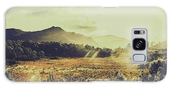 Bright Sun Galaxy Case - Sun Bleached Australia by Jorgo Photography - Wall Art Gallery
