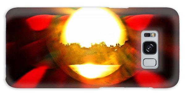 Sun Burst Galaxy Case