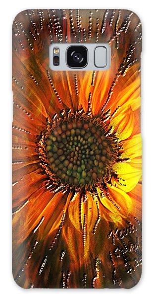 Sun Burst Galaxy Case by Kevin Caudill