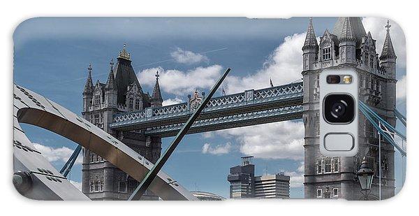 Sun Clock With Tower Bridge Galaxy Case