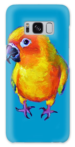 Sun Conure Parrot Galaxy Case