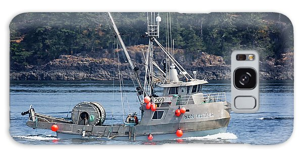 Sun Fisher Off Campbell River Galaxy Case