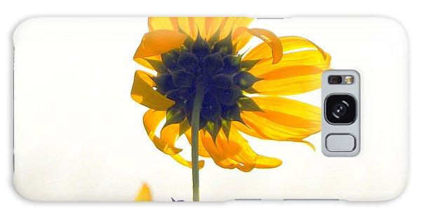 Sun Flower 101 Galaxy Case