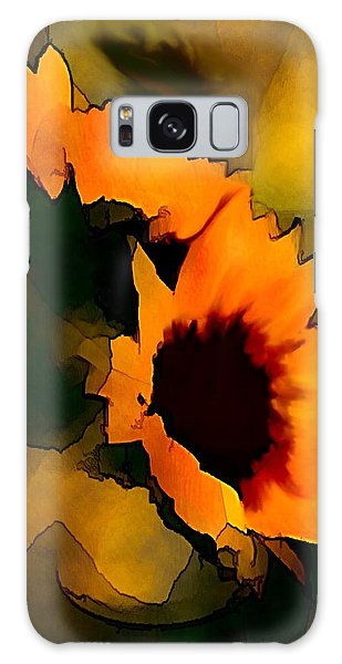 Sun Flower Galaxy Case