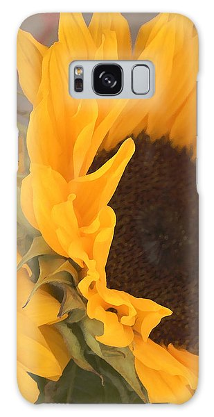 Sun Flower Galaxy Case by Jana Russon