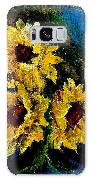Sun Flowers 1 Galaxy Case