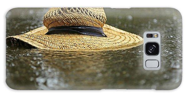Sun Hat In The Rain Galaxy Case