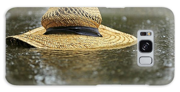 Sun Hat In The Rain Galaxy Case