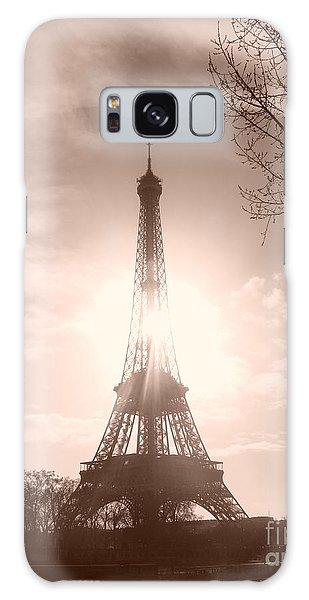 Sun In Paris Galaxy Case