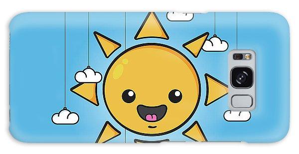 Bright Sun Galaxy Case - Sun Is Shining In The Sky by Samuel Whitton