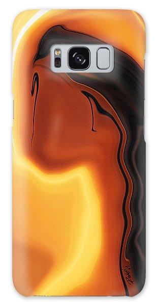 Sun-kissed Galaxy Case by Rabi Khan