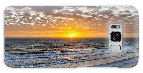 Breaking Dawn Galaxy Case - Sun Rising Over Atlantic by Elena Elisseeva