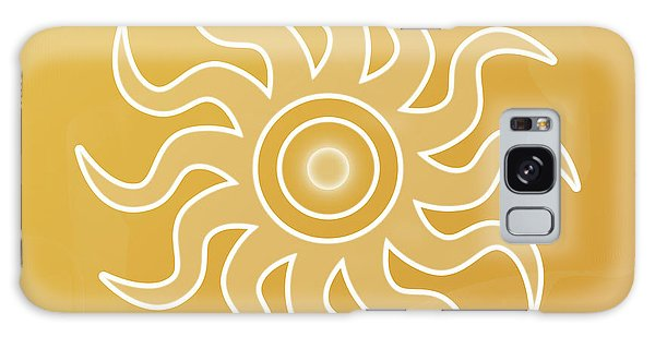 Sun Salutation Galaxy Case
