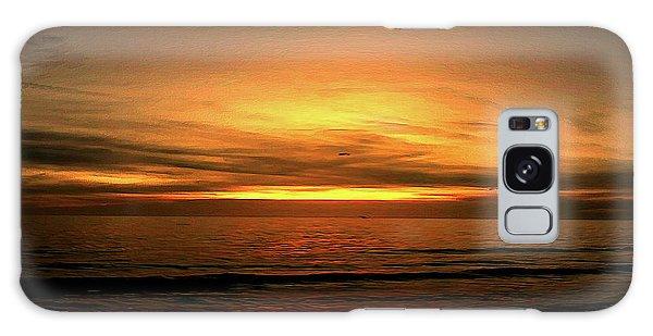 Sun Set On The Gulf Galaxy Case
