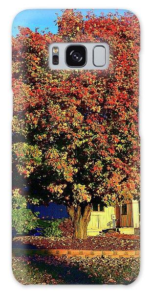 Sun-shining Autumn Galaxy Case