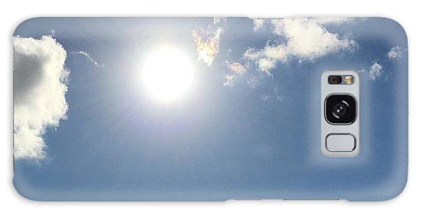 Sun Sky Angel Galaxy Case