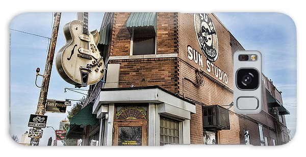 B B King Galaxy Case - Sun Studio - Memphis #1 by Stephen Stookey