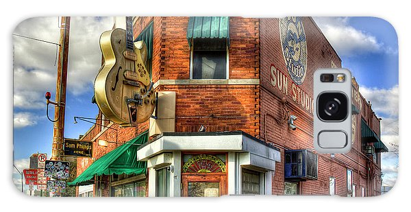 Sun Studio Rock N Roll Birthing Place Memphis Tennessee Art Galaxy Case
