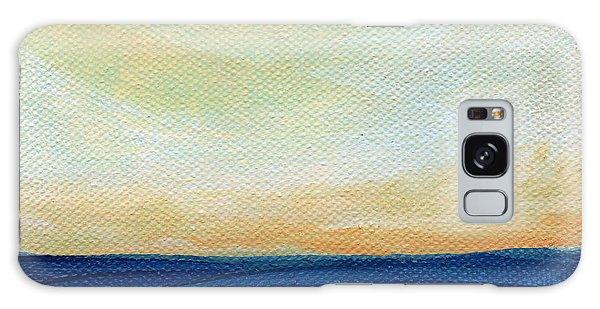 Sun Swept Coast- Abstract Seascape Galaxy Case
