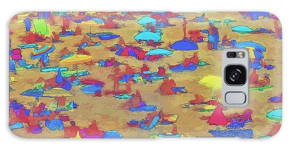 Sun Umbrellas Galaxy Case by Pedro L Gili