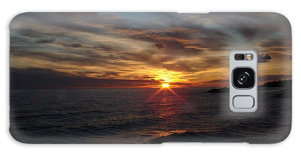Galaxy Case - Sun Up by Bonfire Photography